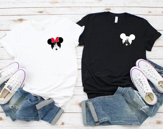 Disney Couples Shirts | Mr and Mrs Disney shirts  | Honeymoon Disney Matching Shirts | Just Married Disney shirt | Couples Disney shirts