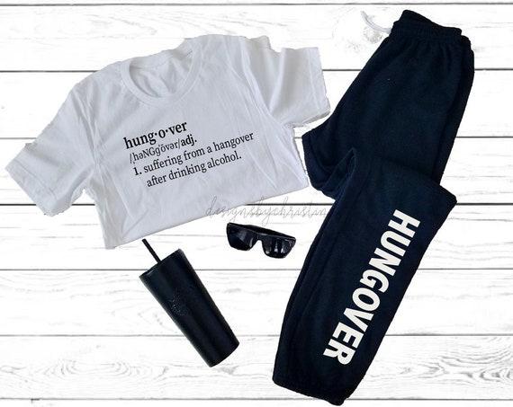 Hungover sweats and shirt | Bachelorette Hungover outfit| hungover shirt | Hangover shirt | Hangover sweats