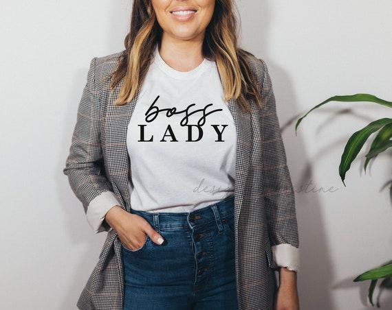 Boss Lady Shirt | Boss shirt | Boss Gift | Boss appreciation gift | Boss Lady top | Boss Babe shirt | Boss Mom shirt | Boss tee