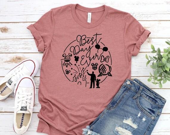 Best Day Ever Shirt | Disney best day ever shirt | Disney family Shirts | Disney Family Vacation Shirt | Best Day ever