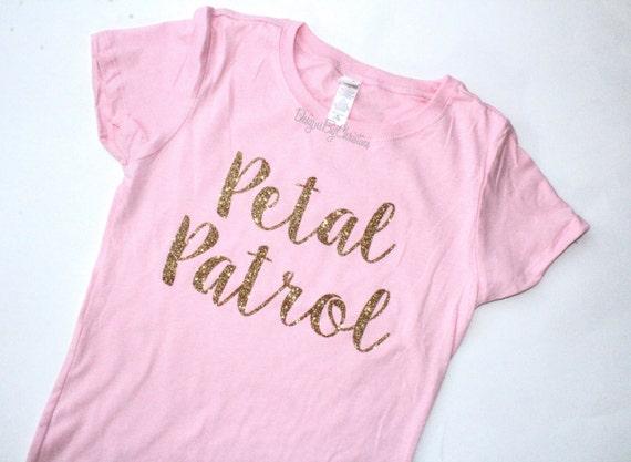 Flower Girl shirt. Glitter shirt. Flower Girl Tee. Flower girl. Petal Patrol shirt. Flower girl proposal gift. Petal patrol