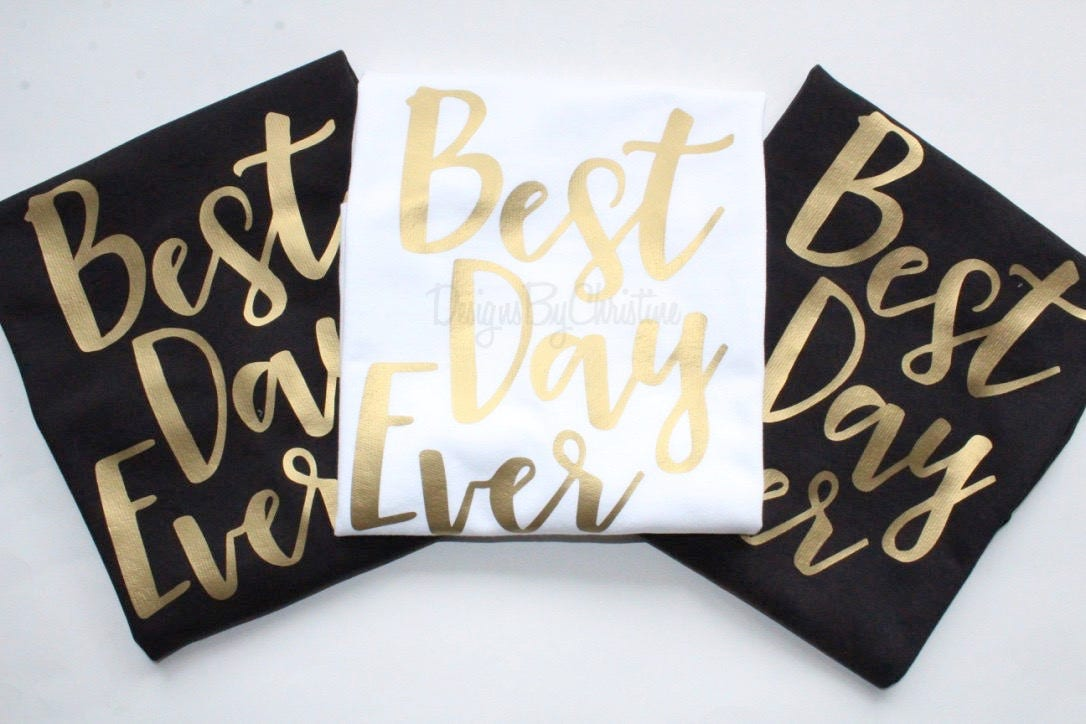 140e863c9e9 Best Day Ever Tank Set. Best Day Ever. Bridal party set. Wedding ...