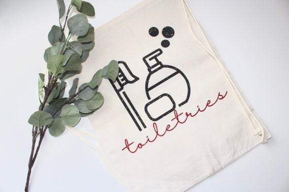 Toiletries travel bag. Toiletry bag. Bachelorette bag. bride gift. Bachelorette gift.Toiletry tote. personalized bag. travel bags