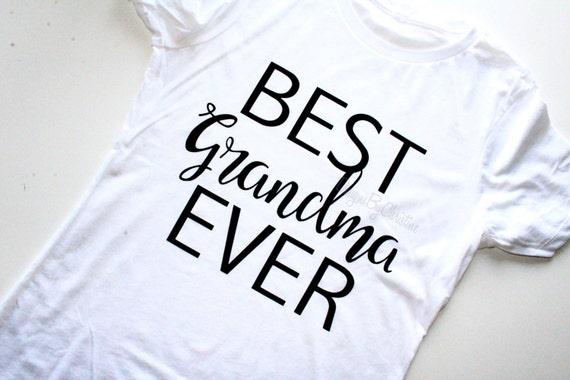 Best Brandma Ever. Best grandma tee. Best grandma ever shirt. Grandma Shirt. Grandma gift.