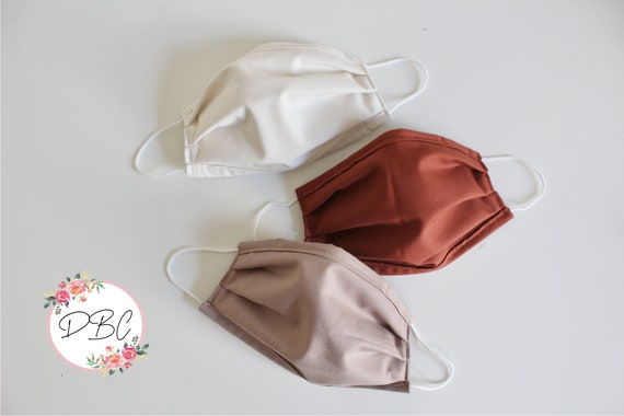 Netural face mask, Mask Cover with nose wire & filter, Cotton Face Mask, Washable Face Mask, mask with filter