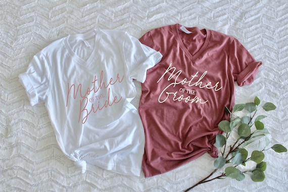 Mother of the Bride shirt | Mother of the groom shirt | Mom wedding shirts | parents wedding shirts | Mom Unisex shirts