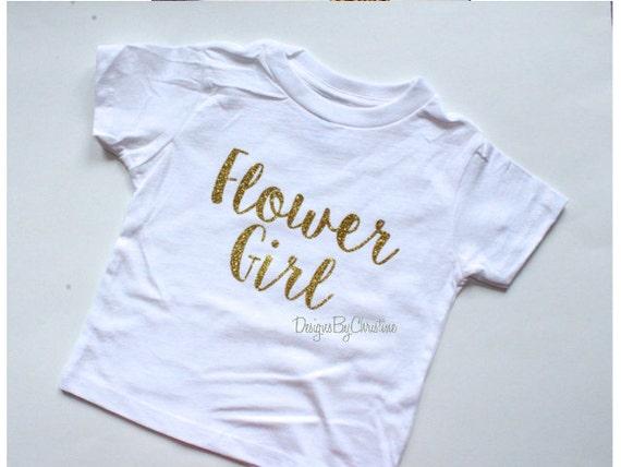 Flower Girl shirt. Glitter shirt. Flower Girl Tee. Flower girl. Petal Patrol. Flower girl shirt