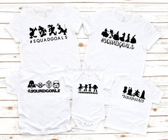 Disney Squad Family Shirt | Princess Squad Group Shirts | Star Wars Squad Shirt | Family Disney Squad Shirts | Toy story squad Shirt
