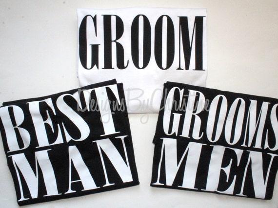 Groom shirt. Best man shirt. Groomsmen shirt. Groomsman shirt. Groom Squad shirt.