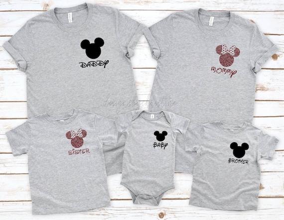 Disney Family shirts | Disneyland Vacation T-shirts | Disney Shirts | Cute Disneyland Shirts | Disney Ear Shirt | Family Disney Shirts