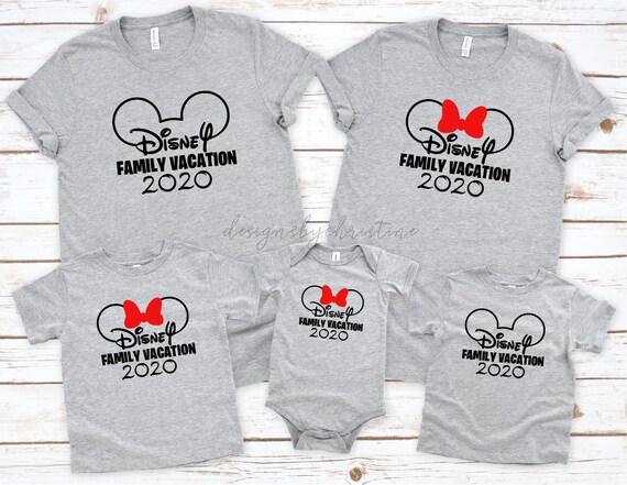 Disney Family Vacation shirts | Disneyland Vacation T-shirts | Disney Shirts | Cute Disneyland Shirts | Maching family Disney shirts