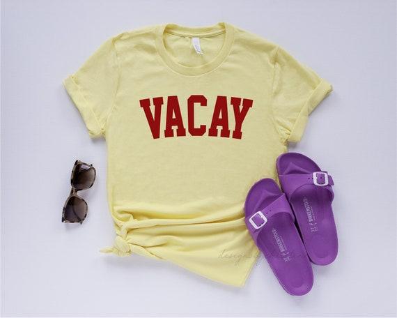 Vacay Shirt | Vacation Shirt | Women,s Vacay Hoodie Top | Vacay Mode Shirt | Vacay Cute top