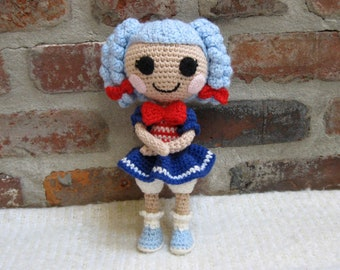 PATTERN: Cinder Crochet Amigurumi Doll by epickawaii on Etsy ... | 270x340