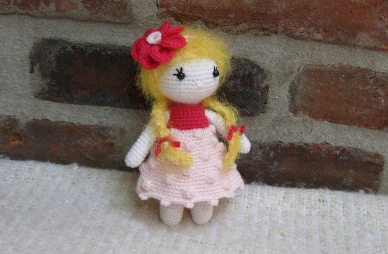 Little Cutie IVY  Amigurumi Doll Crochet Doll finished  image 0
