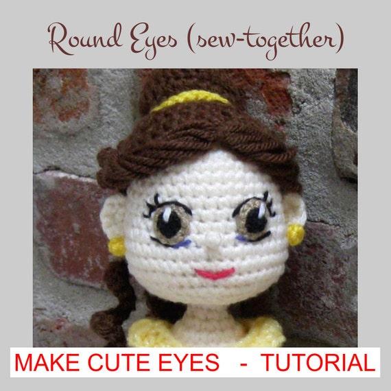 How to Make Eyes for Amigurumi Using Felt - YouTube | 570x570