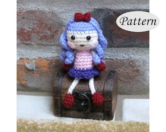 PATTERN - Mini Lalaloopsy Doll - Amigurumi - Crochet Doll - Photo Tutorial - PDF