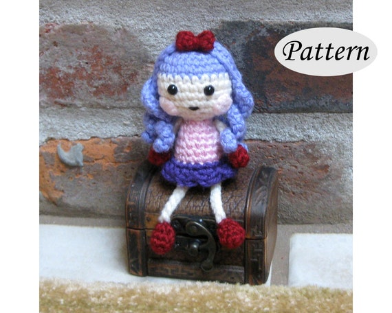 Free Lalaloopsy Inspired Crochet Doll Pattern | 456x570