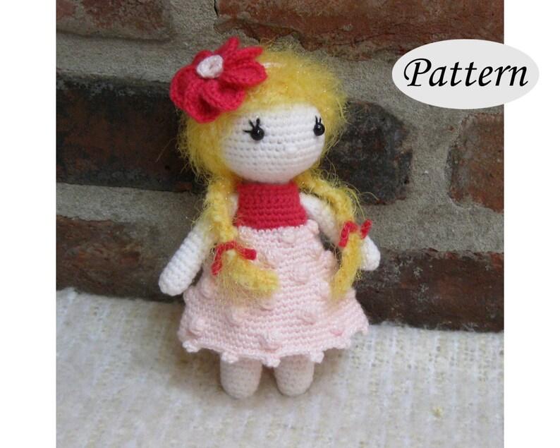 Little Cutie IVY  Amigurumi Pattern Crochet Doll Pattern  image 0
