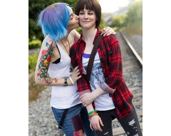 0c9cd02ab25 Chloe Price life is strange game temporary tattoo perfect for cosplay  costume or party