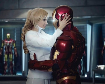 IRON MAN x Pepper Pott cosplay print