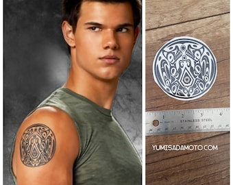 Jacob Twilight temporary Tattoo team jacob Midnight sun  Eclipse