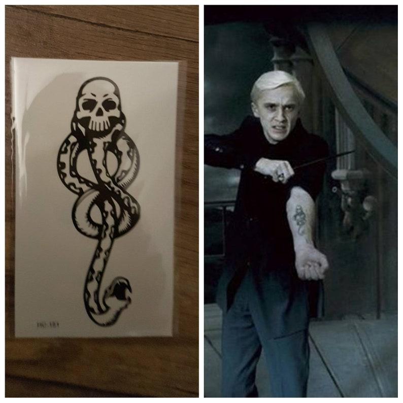 4523611c3 Dark Mark inspired by Harry Potter Movie Severus Snape Rogue