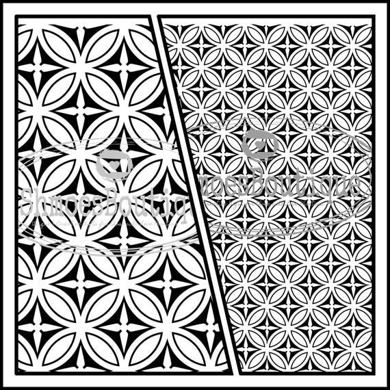 Toboggan Stickers pour utiliser sur la poterie cuite au four, le verre en fusion ou émail - répéter Seamless