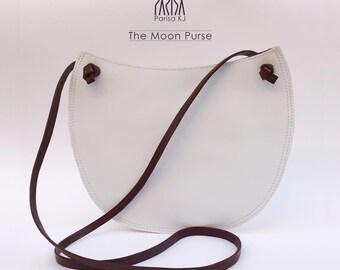 Moon Phases Lunar Cycles Astronomy Sling Messenger Bag Cross Body Handbag Gothic