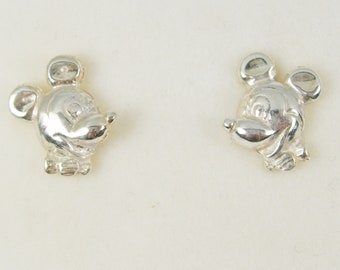 9c72d0baa Children Jewellery Mickey Mouse Cartoon Character Studs Earrings Genuine  925 Sterling Silver - E5004