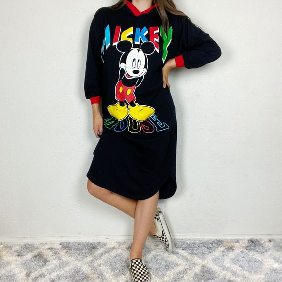 Vintage 1980s Mickey Unlimited Mickey Mouse Hooded