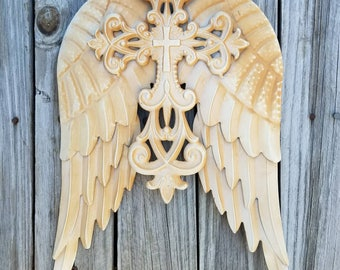 Angel Wings, Angel Wing Decor, Metal Angel Wings, Rustic Angel Wings, Angel  Wall Decor, Guardian Angel, Ornate Wing Decor, Rustic Wings