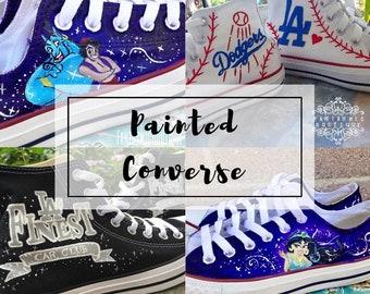 a91a5316701 Custom Painted Converse