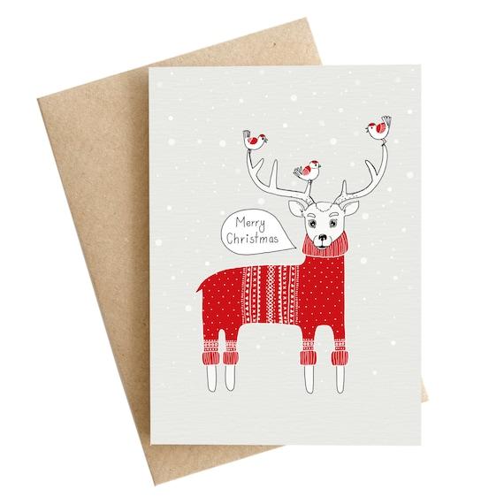 image 0 - Deer Christmas Cards