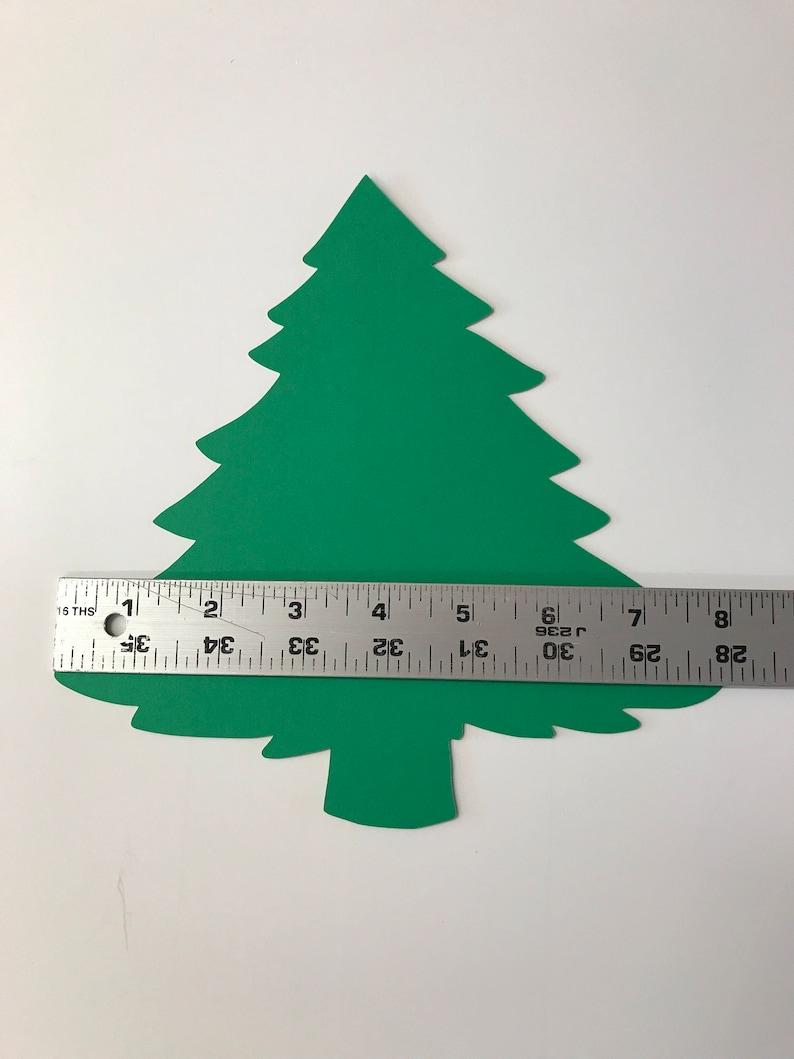 Large Blank Christmas Tree Cutouts Die Cut Christmas Tree ...