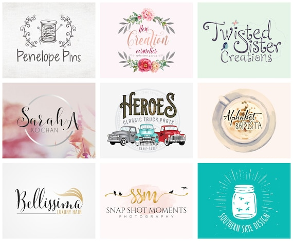 Logo Design, Custom Logo Design, Logo Design Custom, Photography Logo, Business Logo, Shop Logo, Boutique Logo, Branding Logo, Logo, Logos