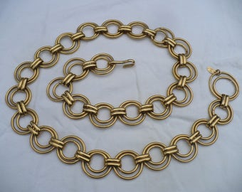 768db0e3518b CHANEL signed Vintage 80 s Runway Couture Rings BELT   NECKLACE