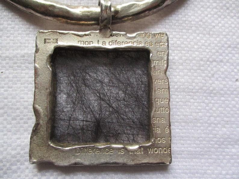 BICHE de BERE Numbered 24147 VINTAGE Modernist Choker Necklace