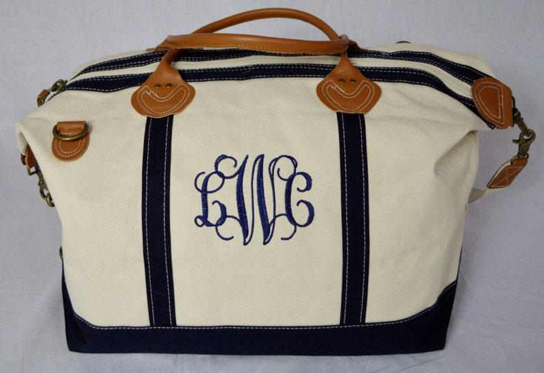 bc57d6b4ec Monogrammed Weekender Sunshine Satchel Monogrammed Duffle Bag