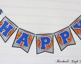 Basketball Birthday Banner