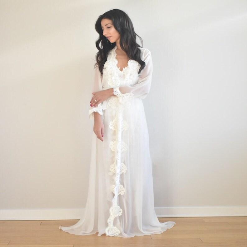 ff2c73449c8 Bride robe bridal robe bridesmaid gift bride lingerie sexy
