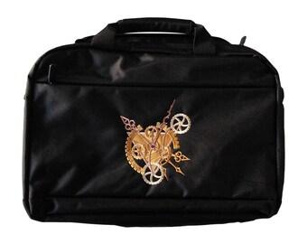 29cb805de Laptop bags for-men black steampunk bag laptop bag 15 inch steampunk laptop  bag college bag computer bag work bag black shoulder bag