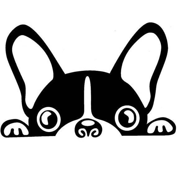 boston terrier decal etsy clip art fancy borders clip art fantastic