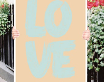 Love Romantic  Typograhy Inspirational Quote Wall Fine Art Prints, Art Posters
