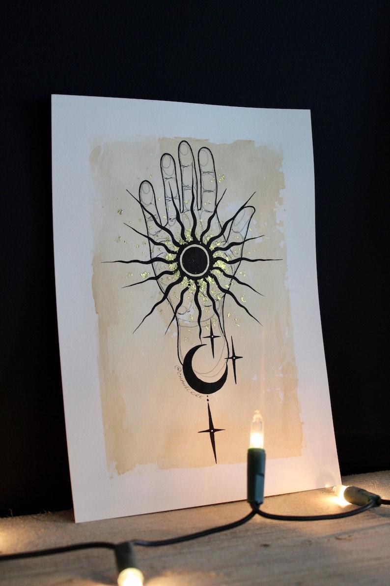 HANDMADE Rising Sun Print