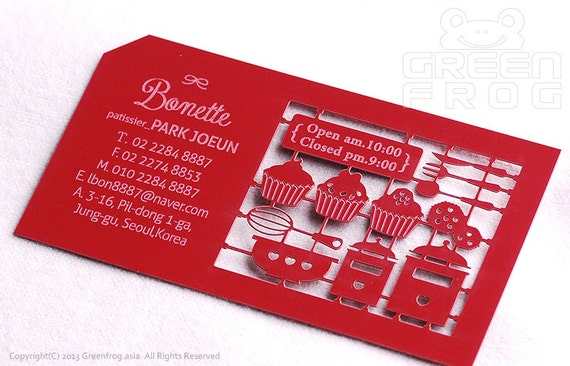 Free shipping 200 customized business cards for a etsy image 0 reheart Images