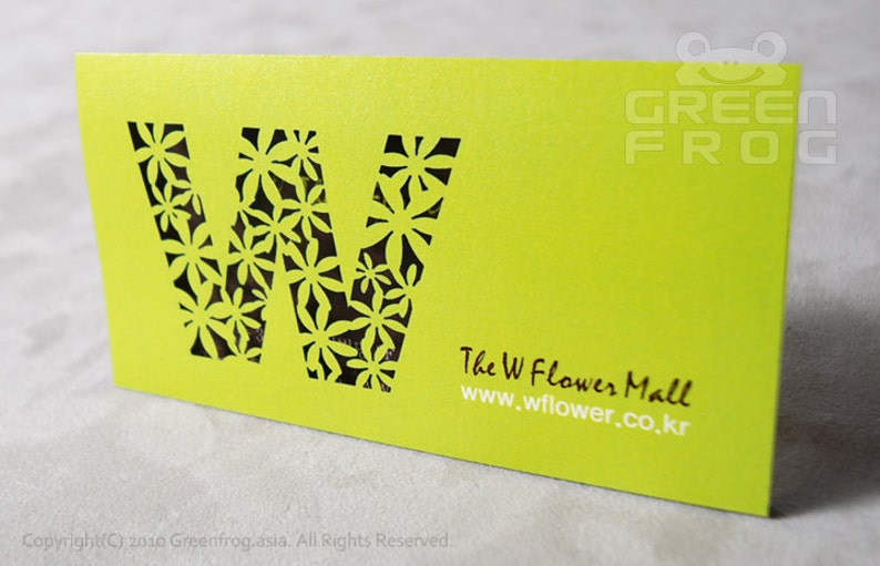 100 Customized Business Cards Unique Name Cards Laser Cut Business Cards FREE Shipping