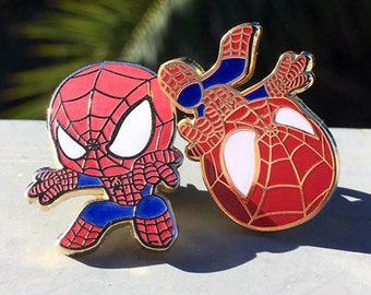 Spiderman Enamel Pin
