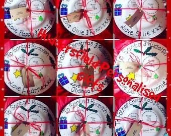 Christmas Eve Plate - personalised