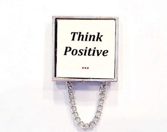 Think Positive Magnetic Eyeglass Holder