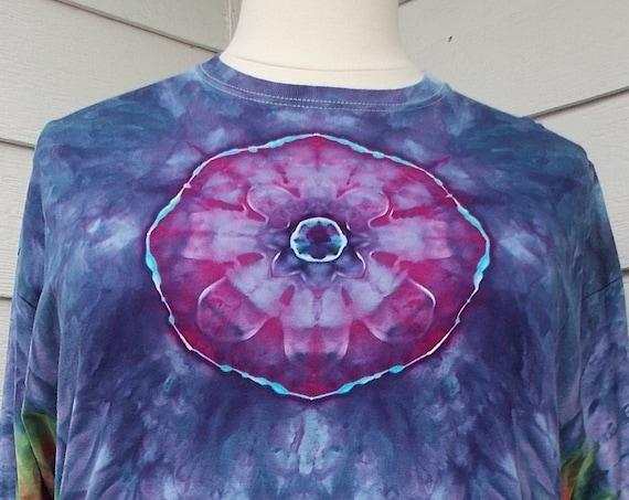 Ice-dyed Long Sleeve Unisex TShirt